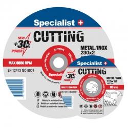 Metallilõikeketas Specalist Cutting 125*1,2*..