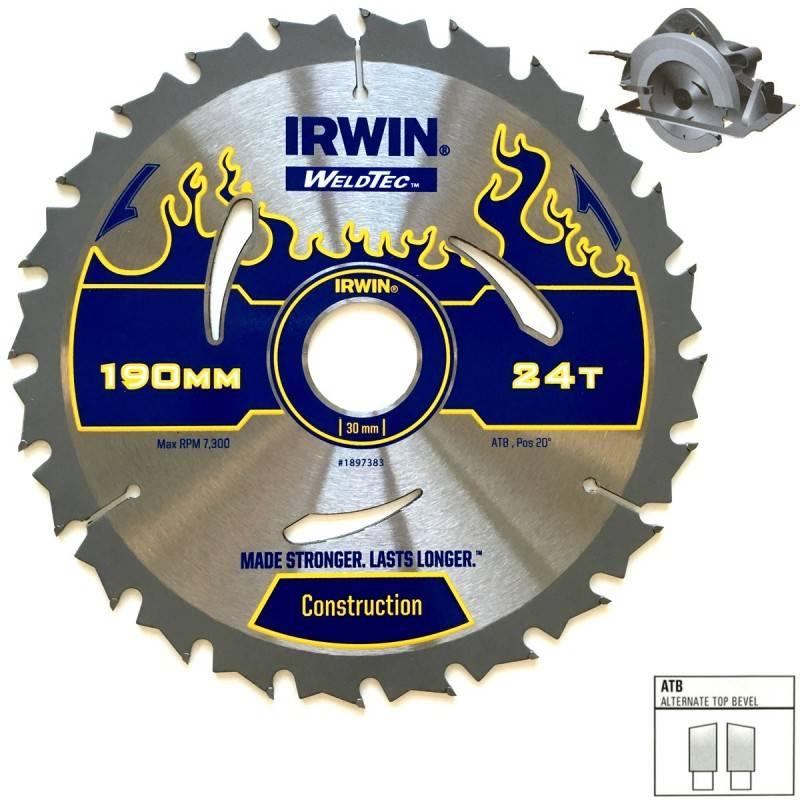 IRWIN WELDTEC Saeketas 165x30(20)x40T 2,4