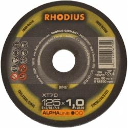 Metallilõikeketas Rhodius XT70 125x1,0