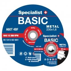 Metalli lõikamisketas Specialist BASIC 125x1..