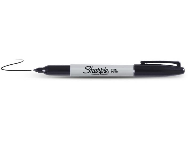 Marker Sharpie Fine punane