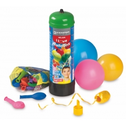 Heelium gaasiballoon ja õhupallide komplekt ..