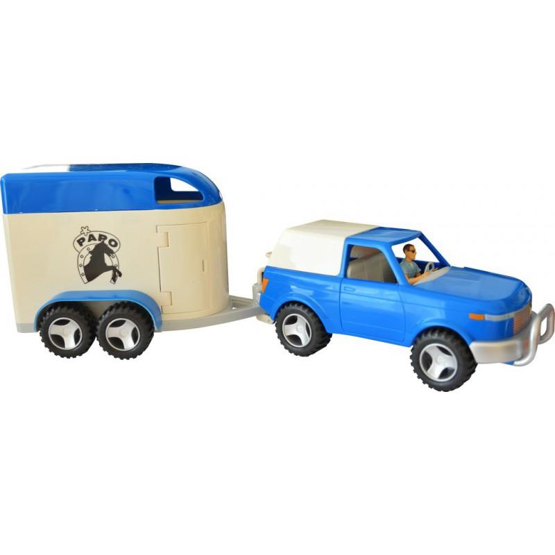 Papo 4x4 offroad auto koos juhiga