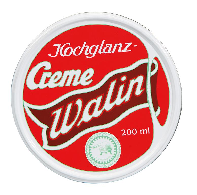 a WALIN-Shoe Polish colourless